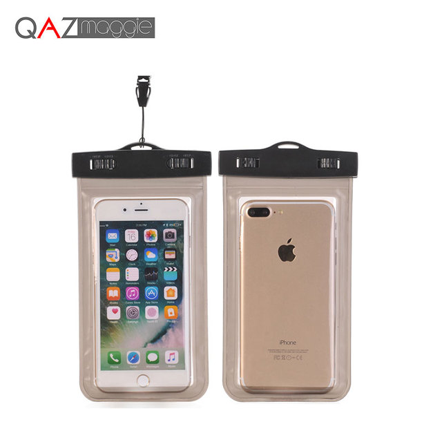 Universal Waterproof Bags Underwater Phone Case For iPhone 6 6s Plus 5S SE 7 7Plus/Samsung Galaxy S6 S7 Edge S8 Plus