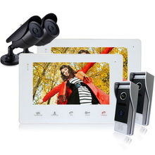 Homefong 7 Inch Color LCD Video font b Door b font Phone Intercom System font b