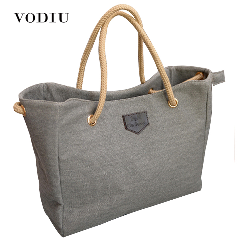 Women Handbag Fashion Shopper Big Canvas Tote Sling 2017 New Style Bags Over Shoulder Bolsas Ladies Casual High Quality Solid new woman shoulder bags cute canvas women big bags literature and art cartoon girls small fresh bags casual tote