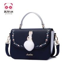 Brand PU Leather Bunny Purse Crossbody Shoulder Women Bag Clutch Female Handbags Sac a Main Femme De Marque