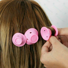 Soft Rubber Magic Hair Care Rollers
