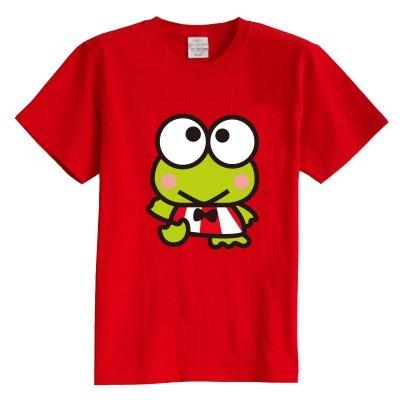 Crianças T shirt do verão de manga curta 100% algodão menina e menino t camisas sapo animal 8 cores crianças roupas