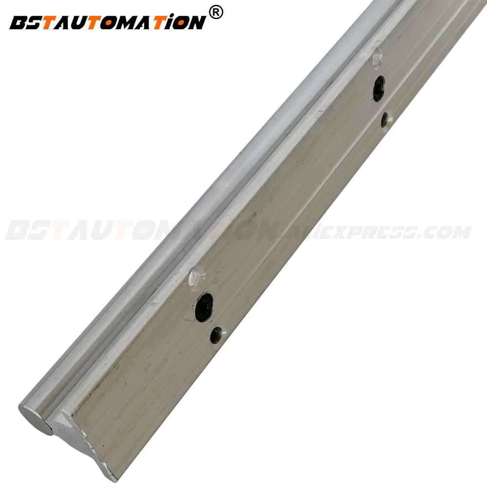 guide rail SBR16-600mm Fully Supported Linear Rail Shaft Rod 2pcs FOR CNC