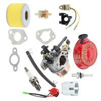 Replacement Kit For Honda GX240 GX270 Recoil Starter Ignition Coil Air Filter Carburetor Kit