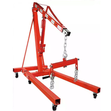 High Quality Capacity 2 Tons Enginee Crane Hydraulic Small Mobile Crane