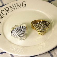 20PCS metal alloy shell napkin ring wedding supplies hotel accessories