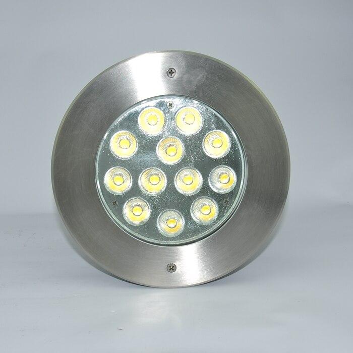 Haute qualité 316 acier inoxydable IP68 36 W RGB 3IN1 encastré lumière sous-marine, lumière de piscine LED Multi couleur lampe à LED de natation blanc