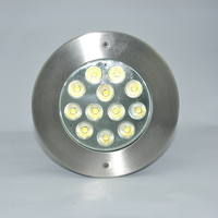 High Quality 316 Stainless steel IP68 36W RGB 3IN1 Recessed Underwater Light ,LED pool Light Multi Color swimming led lamp white