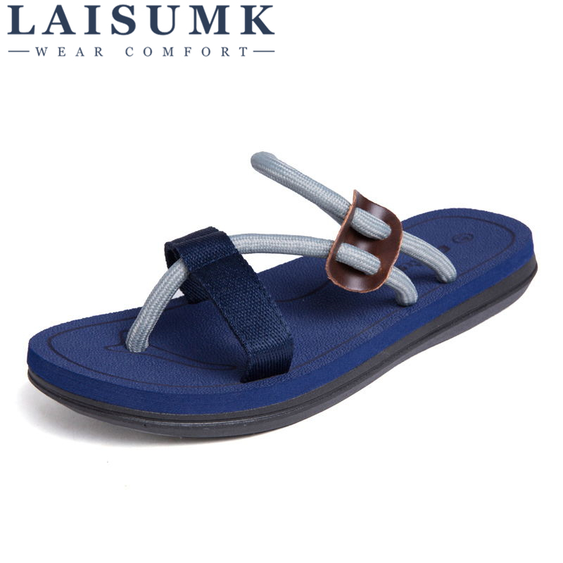 MIUBU Beach Casual Slippers Shoes Mens Flip Flops Summer Sandals Men Shoes Playa Hombre Sandales Outdoor