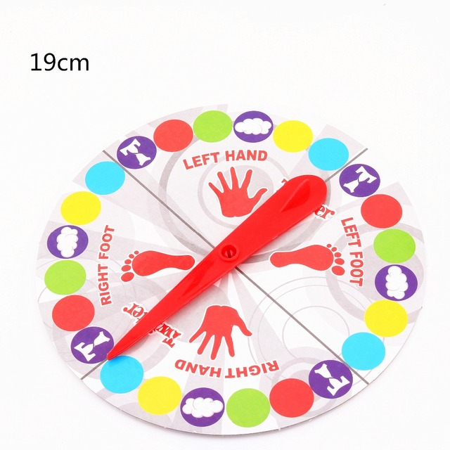 Twister Games for child Family Outdoor jeux enfant Funny Moves Sports Play Mat Multi-player Twisting Body Party Board Game