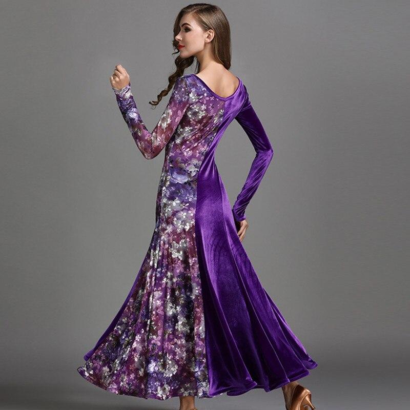 Picture of 4 Colors  Ballroom Dresses Sale Waltz Dance Dress Ballroom Dance Costume Luminous Costumes Dance Wear Standard Social Dress