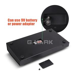 Image 3 - G MARK 8 채널 미니 휴대용 믹서 오디오 콘솔 모노/스테레오 사운드 시스템 악기 마이크 전원 어댑터에 대 한 확장