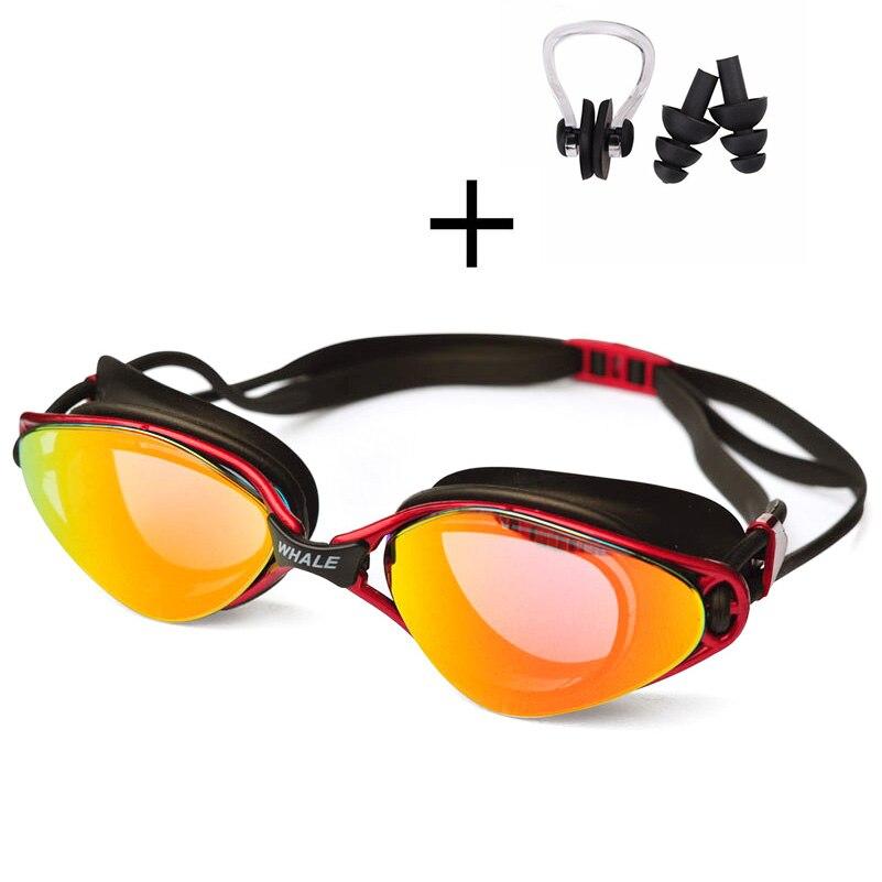 Gafas de natación ajustables profesionales Gafas de natación de - Ropa deportiva y accesorios