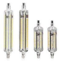 New Silicone R7S LED Lamp 10W 15W SMD 3014 78mm 118mm R7S LED Light Bulb AC220V