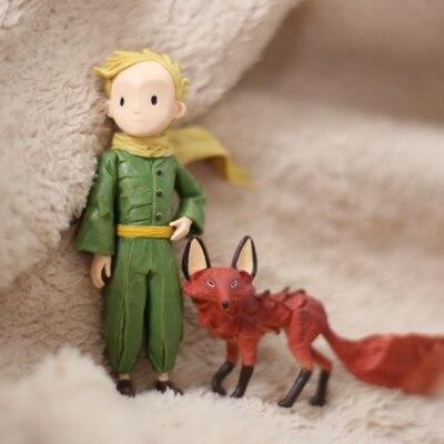 little  princesses ornaments  doll model decoration Toys figures  2pcs/set