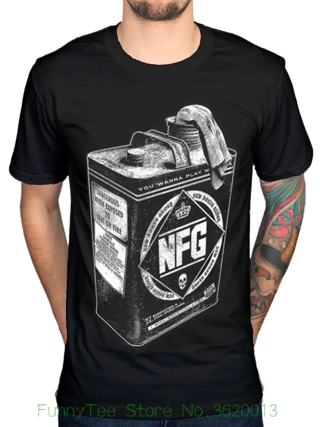 Official New Found Glory Pyro T-shirt New Pop Punk Rock Band Merchandise