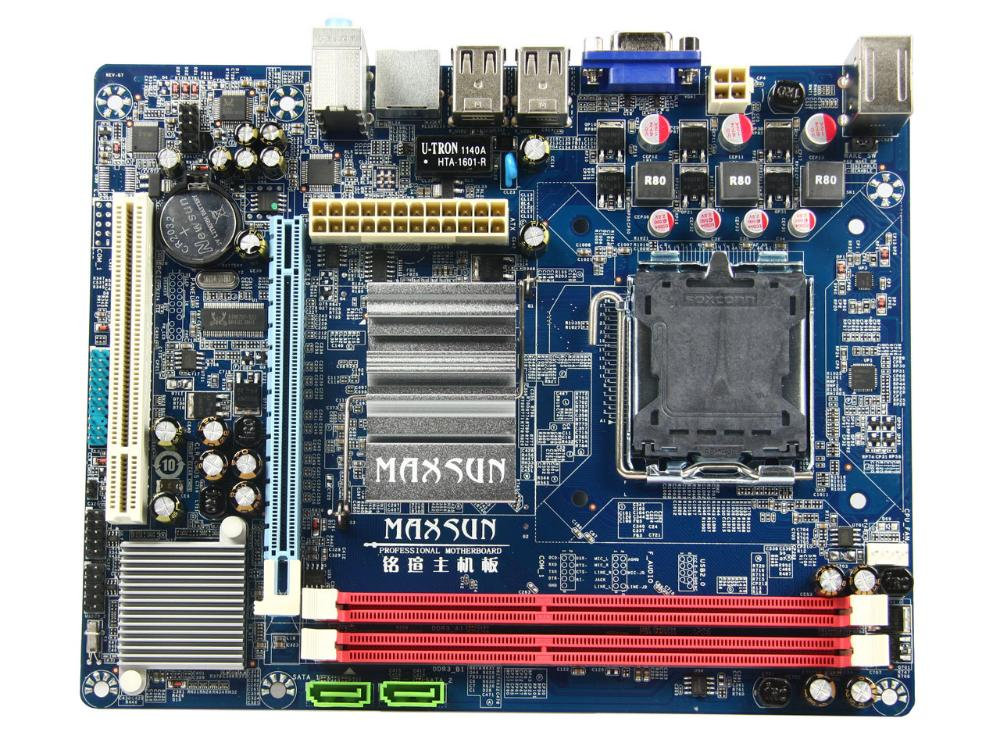 MS-G41MDL ddr3 g41 g41l motherboard 100% tested perfect quality g41 775 needle fully integrated motherboard 775u ddr3 100% tested perfect quality