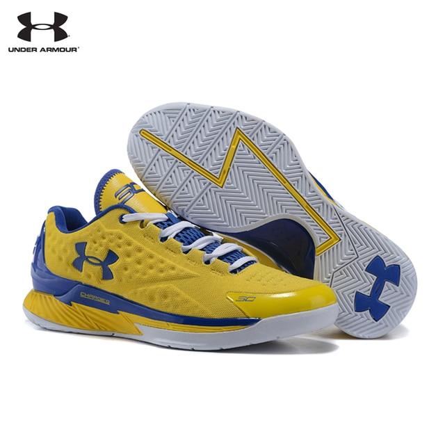 Under Armour Pria Klasik Curry 30 V1 Tanda Tangan Olahraga Basket Sneakers untuk UA Low-Top Bantal Sepatu Outdoor 40-46