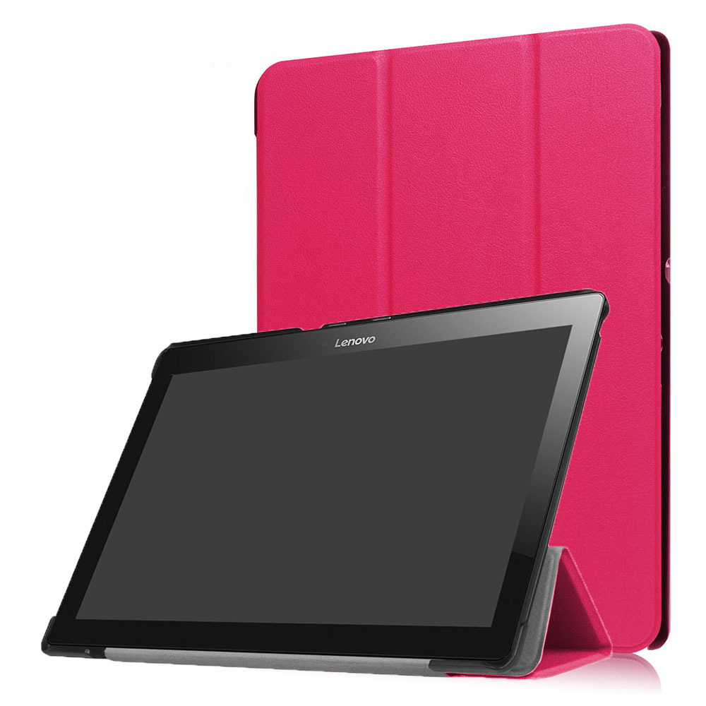 Case for Lenovo TAB 10 TB-X103F Tablet Tri-folding PU Leather Cover for 10.1inch Lenovo TAB10 TB-X103F Tablet Case+Stylus Pen slim print case for acer iconia tab 10 a3 a40 one 10 b3 a30 10 1 inch tablet pu leather case folding stand cover screen film pen