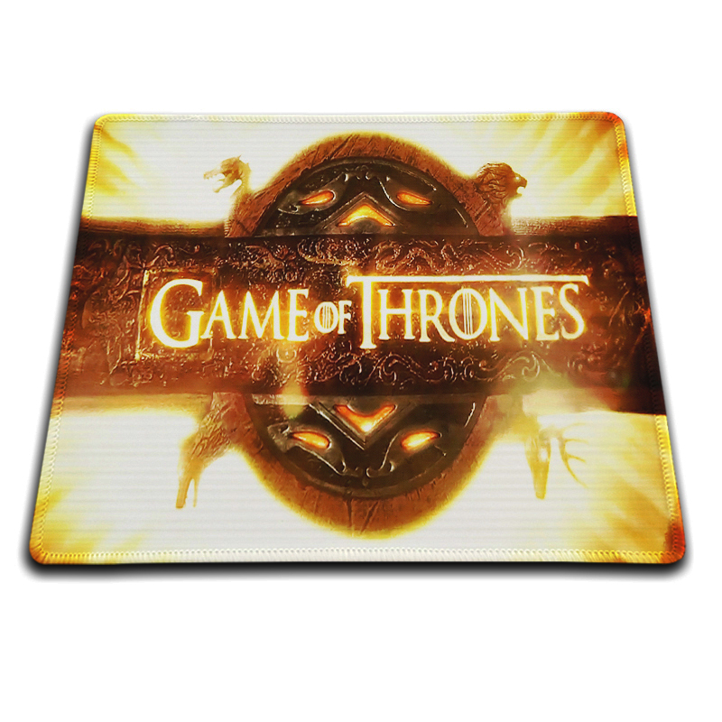 Blue Rocks Mouse Pad Fashion Computer Notebook Gaming Mice Mat 18*22cm and 25*29cm Mouse Mats