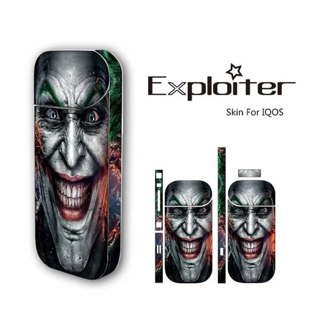 Cool Design PVC Material Vape Wrap Skin for IQOS IQOS