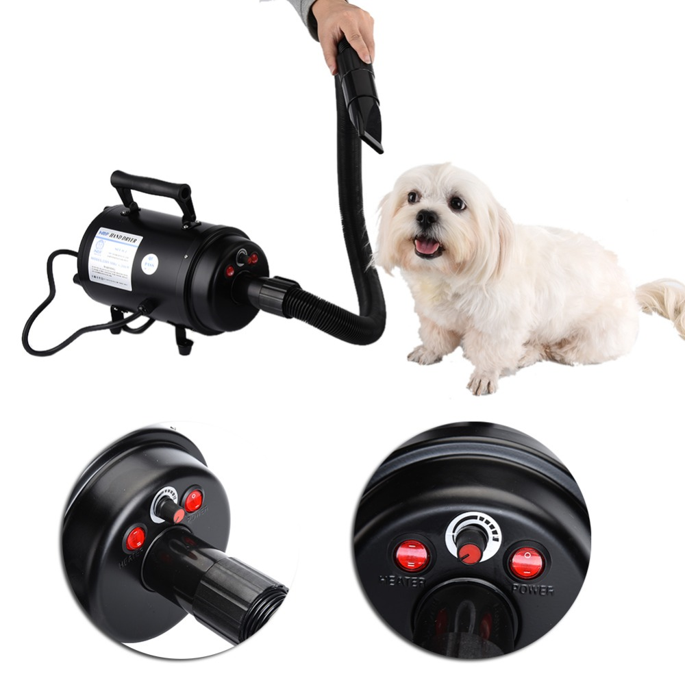 Dog Dryer 2-SPEED Ultra-quiet  Pet Dog Grooming Hair Dryer 2800W Pets Air Force Commander Hair Dryer EU/UK/US/AU 110/220V  2017 new 5 in 1 sets brand cheap dog grooming dryer cheap pet hair dryer blower 220v 110v 2400w eu plug pink blue color