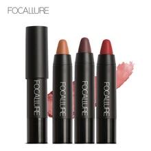 Focallure Brand 19 Color Matte Lipstick Waterproof Lip Stick Make Up Moisturizing Lip Balm Batom Long Lasting Lip Gloss Cosmetic цена