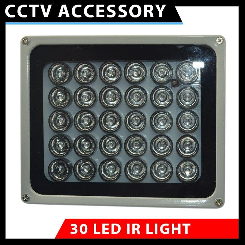 Vision nocturne infrarouge de télévision en circuit fermé de rangée d'illuminateur de LED d'ir pour la lumière de caméra de Surveillance parfaite pour des taches noires de télévision en circuit fermé