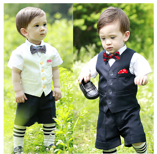c2a226bc6 2015 Newborn baby boy baptism suits,Baby boys white/black Christening gown,5  piece infant 1 year birthday dress for wedding