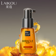 Brand LAIKOU newest Morocco Argan Oil Pure Multi-functional Hair Care Pure Essential Oil For Dry Moroccan Scalp Korean Cosmetic