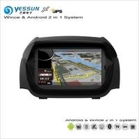 YESSUN для Ford Ecosport 2013 ~ 2014 Автомобильный Android Мультимедиа Радио CD DVD плеер gps Navi географические карты навигации Аудио Видео стерео системы