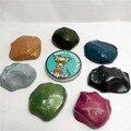 7 Цвет Магнитный Пластилин Резиновые Грязи Сильный глины замазка Стороны гума Магнит смарт глины Образования Игрушки Дети Алюминиевая коробка