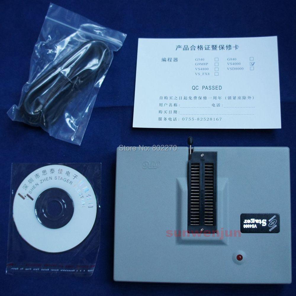 ФОТО VSpeed VS4000 USB Universal Programmer Bios EPROM SPI FLASH 51 AVR PIC MCU GAL