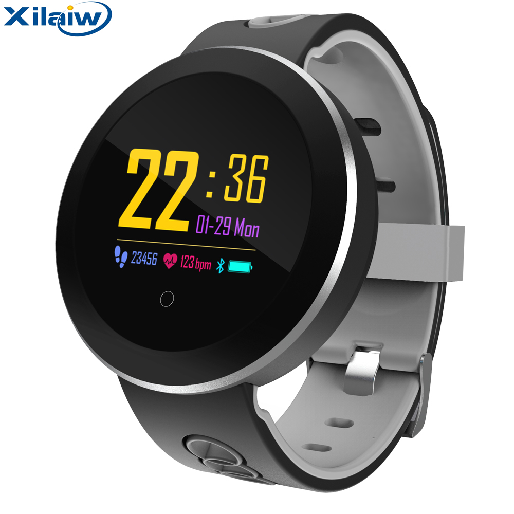Fitness Tracker band Smart bracelet IP68 Waterproof Heart Rate Monitor Sport Wristband for Android IOS PK xiaomi miband2