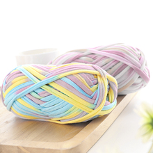 5pcs Mix Colors Woolen Yarn Diy Knitting Wool For Rugs Woven Thread Cloth Hand Crochet