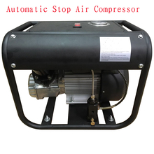 New JUFENG 220V 300bar Automatic Stop High Pressure Portable 4500psi Electric Air Compressor PCP Pump