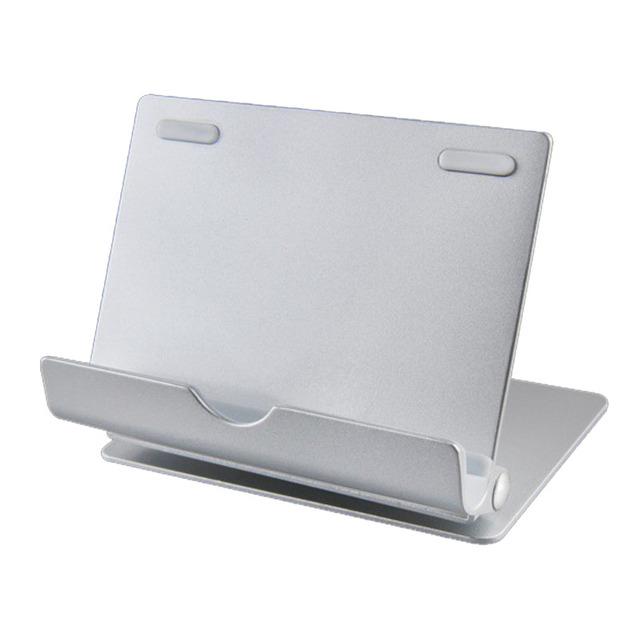 Tablet PC y Teléfono Móvil Del Sostenedor Del Soporte de 360 Grados de Rotación de Aleación de Aluminio de Escritorio Soporte Perezoso Soporte Desmontable Plegable Durable