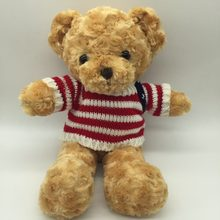 12add35d81b BSTAOFY Dropshipping 38 CM Bonito Adorável Teddy Bear Stuffed Animal Plush  Urso de Peluche com Camisola Tarja Lindo Presente par.