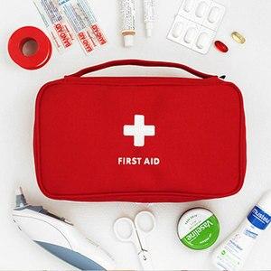 Image 1 - גדול רפואת תיק נסיעות בחוץ קמפינג גלולת אחסון תיק העזרה הראשונה חירום מקרה ערכת הישרדות