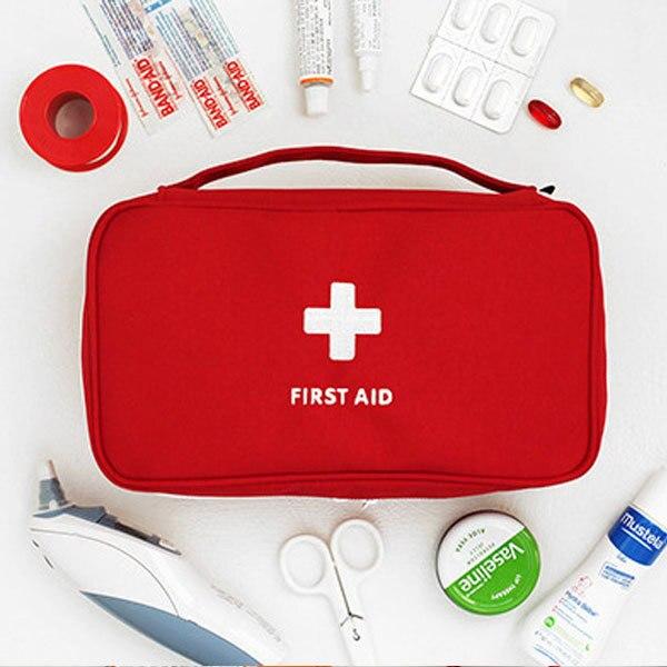 גדול רפואת תיק נסיעות בחוץ קמפינג גלולת אחסון תיק העזרה הראשונה חירום מקרה ערכת הישרדות
