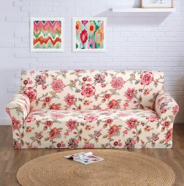 2017 Europe type sofa set of combination of three person of cloth art sofa cover the