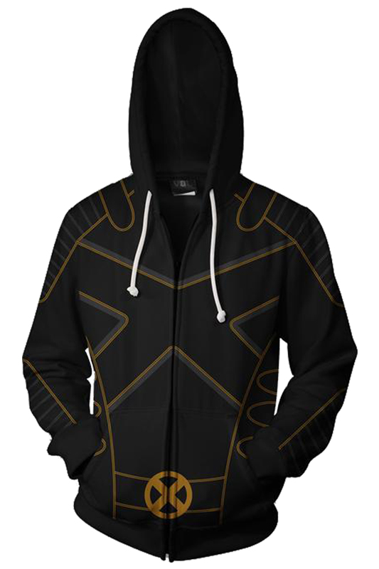 Deadpool 2 X-Men Hoodies Autumn Winter 3D Print Sweatshirts Fashion X-Men Cosplay Casual Zipper Hooded Jacket Men Women
