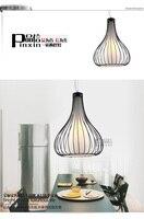 Fashion Pendant Light Restaurant Lamp Single Bar Counter Lamp Pendant Light
