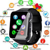Elegante nuevo reloj inteligente reloj rastreador Monitor sangre relojes montre inteligente niños saatler relojes android