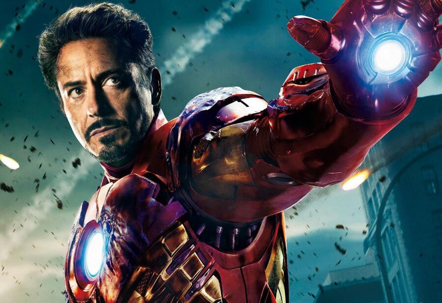 788b83ab735 Dropwow 89259 Iron Man 3 Tony Stark Sunglasses for Men Super Hero ...
