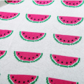 1 Piece Baby Blanket 90cm*110cm Small Watermelons Duplex Knitting Blankets For Children Warm Bed Spread Play Mat Gifts For Kids