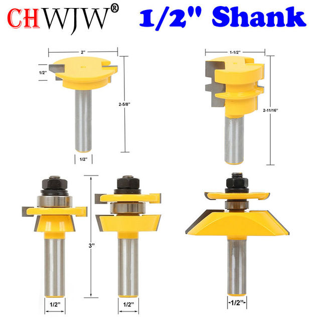 5pc Shaker Raised Panel Cabinetmaker Router Bit Set- 1/2\  Shank door knife  sc 1 st  AliExpress.com & 5pc Shaker Raised Panel Cabinetmaker Router Bit Set 1/2\