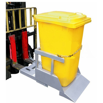 Hot sale Forklift accessories Forklift attachment JXCC-7 Wheelie bin tipper
