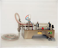Pneumatic Piston Liquid Filler Shampoo Gel Water Wine Milk Juice Vinegar Coffee Oil Drink Detergent Filling
