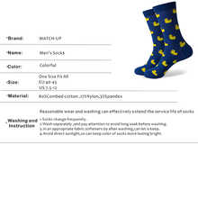Match-Up  Men's Combed Cotton  Socks Funny camouflage Casual Crew Dress Party Socks Novelty (10 Pairs/lot)
